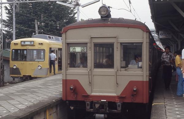 西武鉄道 赤電の時代 クハ1411形...