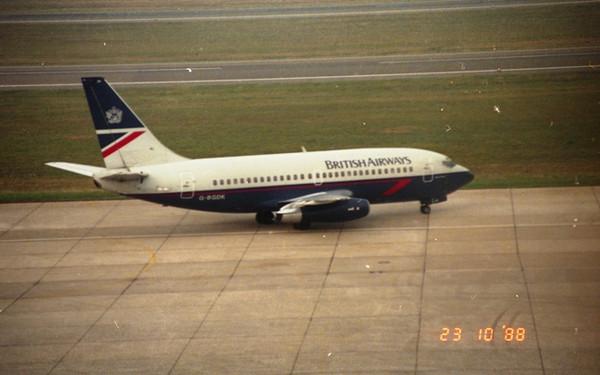西ベルリンの思い出 BA Boeing 7...